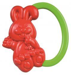 """Погремушка Canpol babies """"Кролик"""", 0+, красная"""