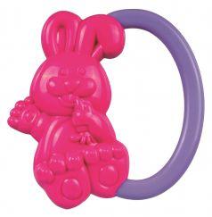 """Погремушка Canpol babies """"Кролик"""", 0+, розовая"""
