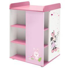"""Комод Polini kids Disney baby 2090 """"Минни Маус-Фея"""" с дверью, белый-розовый"""