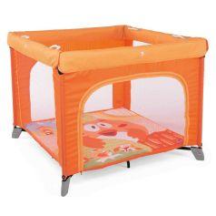 Манеж детский Chicco Open Fancy Chicken, оранжевый