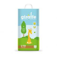 Подгузники Lovular Giraffe L (8-15кг), 52шт.