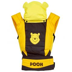 """Рюкзак-кенгуру Polini kids Disney baby """"Медвежонок Винни и его друзья"""" с вышивкой, шоколад"""