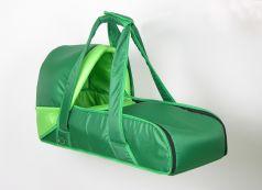 Люлька-кокон Фея переносная, зеленая