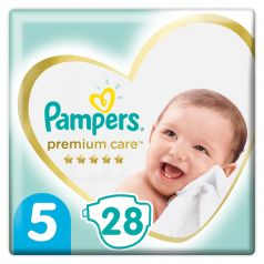 Подгузники Pampers Premium Care Junior (11-16 кг), 28шт.