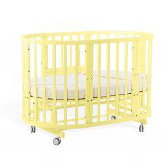 Кровать-трансформер Nuovita Nido Magia 5 в 1, шартрез желтый