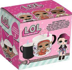 Кружка-хамелеон керамическая ND Play L.O.L. №1 в подарочной упаковке, 325мл
