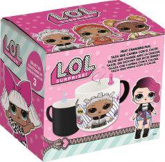 Кружка-хамелеон керамическая ND Play L.O.L. №2 в подарочной упаковке, 325мл