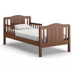 Подростковая кровать Nuovita Volo, темный орех