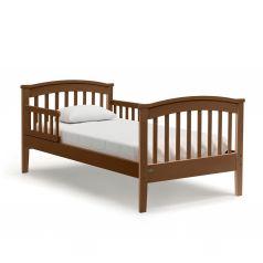 Подростковая кровать Nuovita Perla Lungo, темный орех