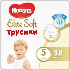 Трусики Huggies Elite Soft 5, 12-17кг, 38шт.