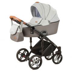 Детская коляска 2 в 1 Nuovita Carro Sport, серая