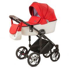 Детская коляска 2 в 1 Nuovita Carro Sport, алый/белый