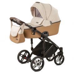 Детская коляска 2 в 1 Nuovita Carro Sport, беж/коричневый