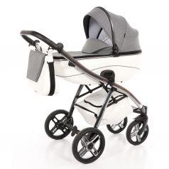 Детская коляска 2 в 1 Nuovita Intenso, белая