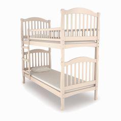 Двухъярусная кровать Nuovita Altezza Due Sbiancato, отбеленная