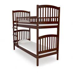 Двухъярусная кровать Nuovita Senso Due Nocescuro, темный орех