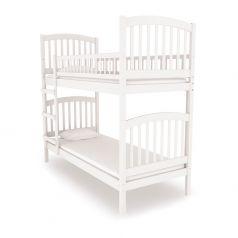 Двухъярусная кровать Nuovita Senso Due Bianco, белая
