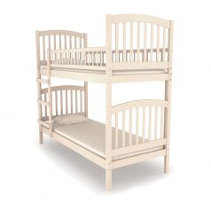 Двухъярусная кровать Nuovita Senso Due Sbiancato, отбеленная