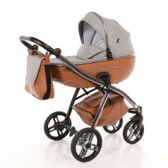 Детская коляска 2 в 1 Nuovita Intenso, коричневая