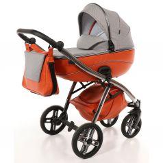 Детская коляска 2 в 1 Nuovita Intenso, оранжевая