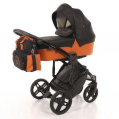 Детская коляска 2 в 1 Nuovita Diamante, оранжевая