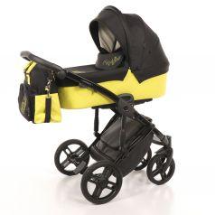 Детская коляска 2 в 1 Nuovita Diamante, желтая