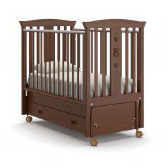 Детская кровать Nuovita Fasto Swing, темный орех