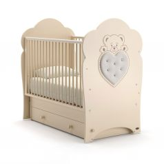 Детская кровать Nuovita Fortuna Swing, слоновая кость