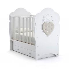 Детская кровать Nuovita Fortuna Swing, белая