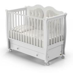 Детская кровать Nuovita Affetto Swing, белая