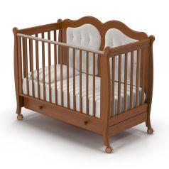 Детская кровать Nuovita Affetto, темный орех