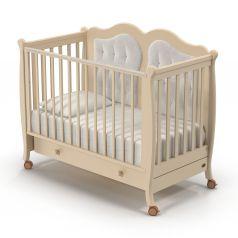 Детская кровать Nuovita Affetto, слоновая кость