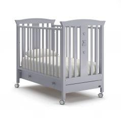Детская кровать Nuovita Fasto, серая