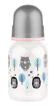 Бутылочка для кормления Lubby с латексной соской, 125мл