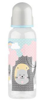 Бутылочка для кормления Lubby с латексной соской, 250мл