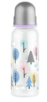 Бутылочка для кормления Lubby с силиконовой соской, 250мл