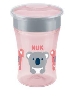 """Поильник NUK Evolution """"Magic"""", для девочек, розовый, 230мл"""