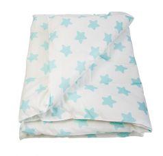 "Одеяло Сонный Гномик ""Холлофайбер"", голубой"