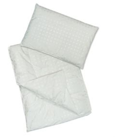 """Комплект Сонный Гномик """"Эвкалипт"""": одеяло и подушка"""
