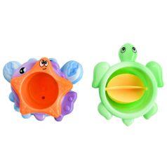 """Набор-пирамидка для игры в ванной Frog&Croc """"Веселая компания"""""""