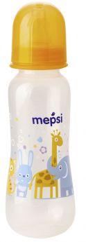 Бутылочка для кормления Mepsi с силиконовой соской, 250мл