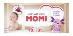 Детские влажные салфетки Momi, 70шт.
