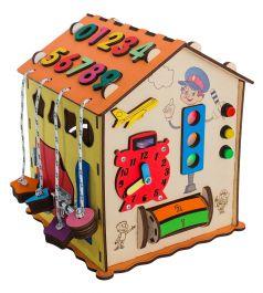 Развивающий домик Эlen Toys с элементами питания