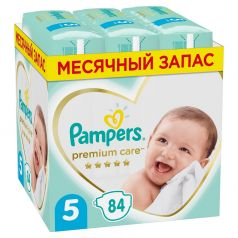 Подгузники Pampers Premium Care Junior (11-16кг), 84шт.