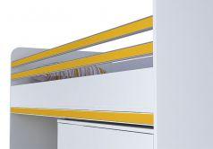 Декоративный элемент Polini kids City для кровати-чердака Polini kids City, желтый