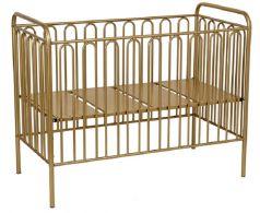 Кроватка детская Polini kids Vintage 150, металлическая (цвета в ассорт.)