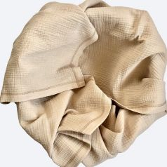 Плед-пелёнка Mjolk Gold Sand из муслинового хлопка, золотистый