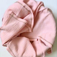 Плед-пелёнка Mjolk Rose Quartz из муслинового хлопка, розовый