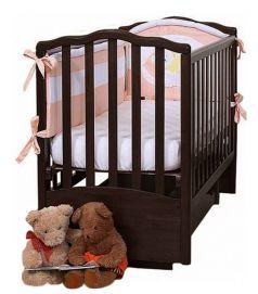 """Кровать детская Лель АБ 19.2  """"Жасмин"""",  маятник поперечный (цвета в ассорт.)"""