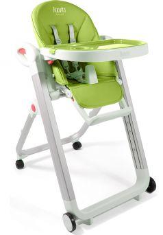 Стульчик для кормления Nuovita Futuro Bianco, зеленый